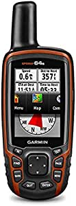 Garmin GPSMAP 64s Worldwide with High-Sensitivity GPS and GLONASS Receiver