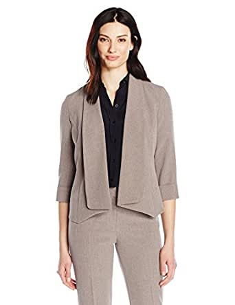Amazon.com: Kasper Women's Flyaway Jacket: Clothing