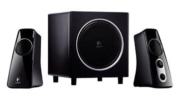 13004c467e2 Amazon.com: Logitech Z 523 - 2.1-channel PC multimedia speaker system - 40  Watt (total) - Z523 SPK SYS 2.1: Computers & Accessories