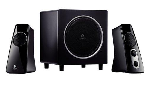 Logitech 523 2 1 channel multimedia speaker