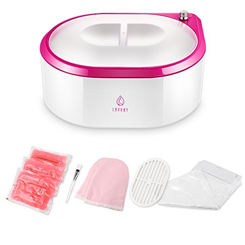 Lavany Paraffin Wax Warmer, Paraffin Wax Machine, Quick-Heating Paraffin Bath for Hands and Feet