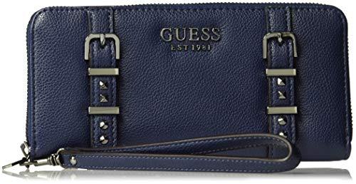 GUESS Eileen Midnight Large Zip Around Wallet