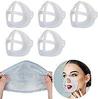 Aclouddates 5枚ひんやりプラケット、口鼻サポートアーティファクト、口紅の保護、呼吸スペースを増やす 通気性 超快適 夏用…