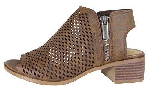Buy peep toe mesh bootie