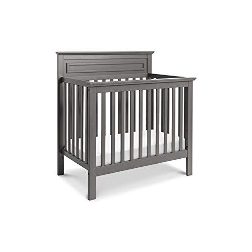 Davinci Autumn 4 in 1 Convertible Mini Crib, Slate