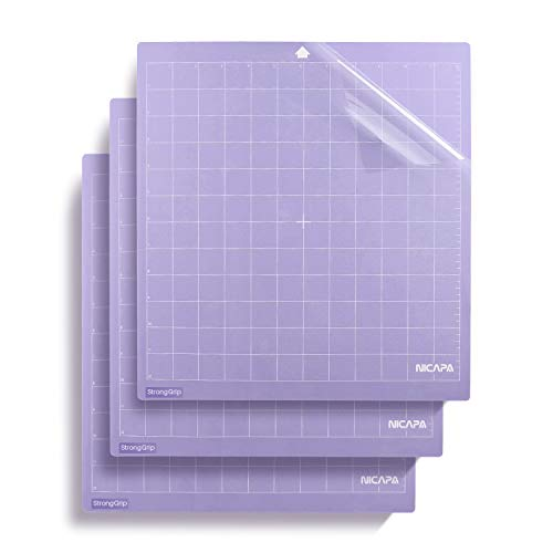 Nicapa Strong Grip-Purple Cutting Mat, 12 by 12-inch (3 Mat) by Nicapa