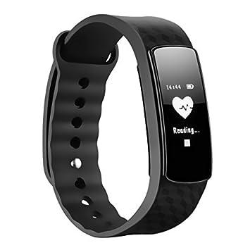 Mpow Pulsera Inteligente con Monitor de Pulso Cardiaco Pedómetro ...