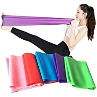 SKY-TOUCH Flat Resistance Band, Elastic Exercise Equipment, Straight Stretching Fitness Training for Full Body Leg…