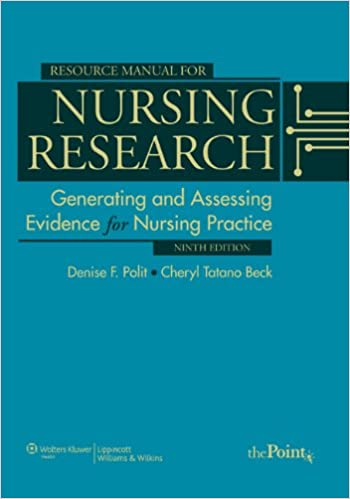 Resource Manual To Accompany Nursing Research Generating