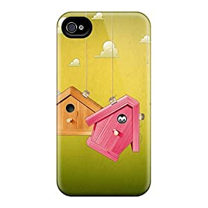 Hot Snap-on 3d Birdhouses Hard Covers Cases/ Protective Cases For Iphone 6 Black Friday