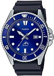 Casio - Reloj Casual De Cuarzo Inspirado En Diver Para Hombre