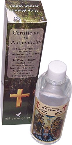 Jordan River Holy Water Holy Sepulchre Jerusalem - scented 200ml