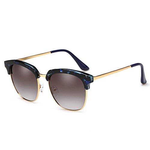 sin turismo gafas Color montura semi de conducción protección de marco Gafas ZHIRONG polarizadas B de 100 UV400 C sol PZAaxYqf