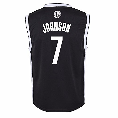 - adidas Joe Johnson Brooklyn Nets NBA Black Official Road Replica Basketball Jersey for Toddler (2T)