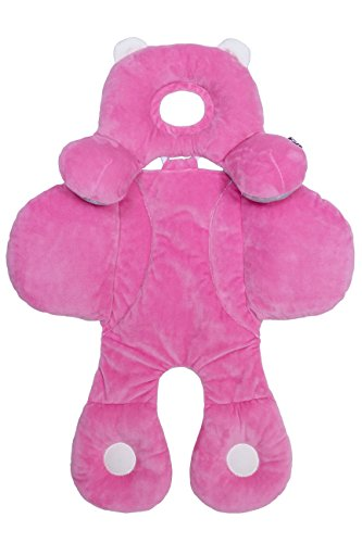 Benbat Travel Friends Infant Head and Body Support, Pink