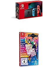 Nintendo Switch Konsole - Neon-Rot/Neon-Blau (2019 Edition) + Just Dance 2020 (Switch)