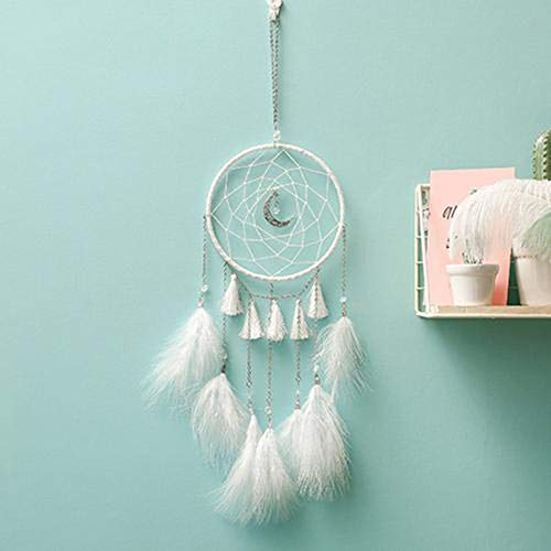 ream Catcher Hanging Decor Crystal Wind Chime Ornament Without Light ()