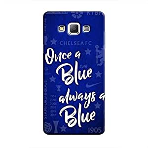 Cover It Up - Chelsea- Once a Blue Galaxy A3 Hard Case