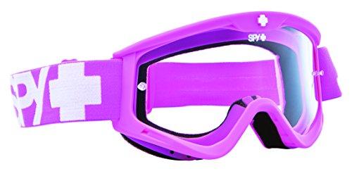 Spy Optic Targa 3 Clear Lens Snow Goggles with Buggle Gum - Goggles Spy Lenses