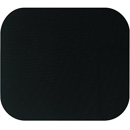 Computer Mouse Black Pad (Fellowes 58024 Medium Mouse Pad (Black))