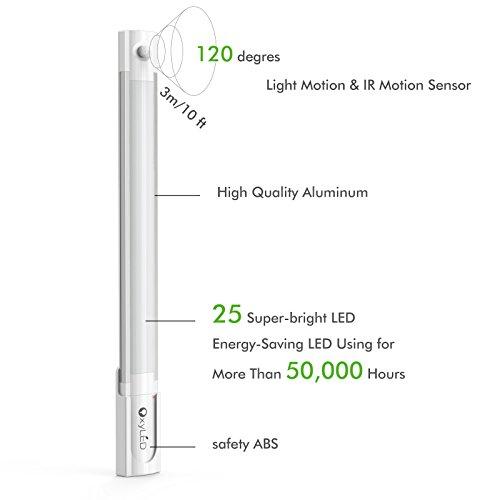 motion sensor closet lights  usb rechargeable under light bar for bathroom vanity Bulbs for Bathroom Light Bars