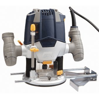1-1/2 HP Variable Speed (11,000 to 28,000 RPM) Plunge Router Super Duty; Includes edge guide and collet wrench