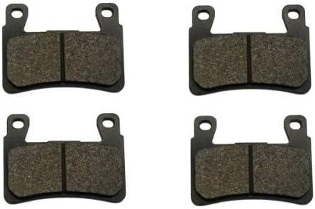 Sixity Front Rear Ceramic Brake Pads 2014 for Honda GL1800 Valkyrie Set Full Kit Complete