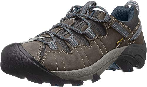 KEEN Men's Targhee II Hiking Shoe,  Gargoyle/Midnight Navy - 14 D(M) US