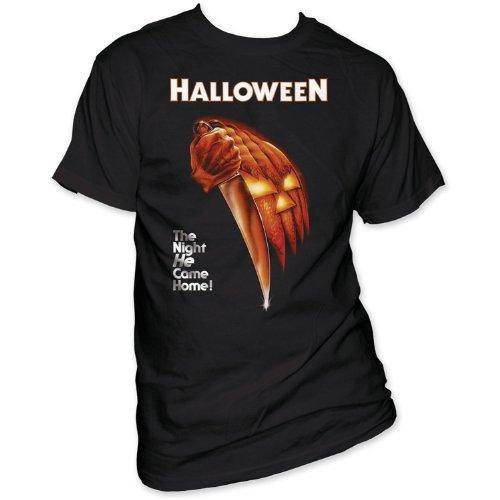 Impact Men's Halloween Night He Came Home T-Shirt, Black, XX-Large (Halloween Tshirt)