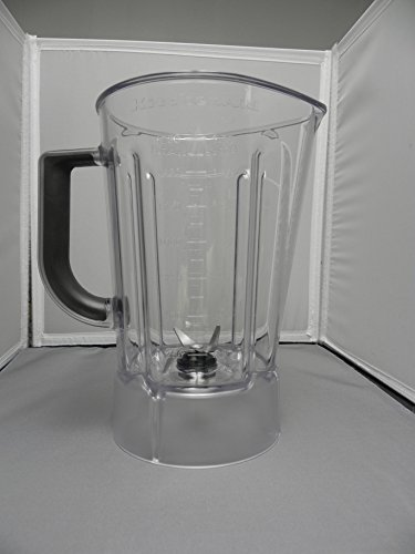 Kitchenaid W10514649 Blender Jar Assembly Genuine Original Equipment Manufacturer (OEM) part for - Blender Replacement Kitchenaid