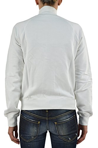 Dsquared2 Women's Sweatshirt with Brooch and Hinges White - size M/L