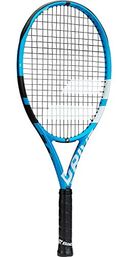 Babolat Pure Drive 25 Junior Blue/White Tennis Racquet (4'' Inch Grip) Strung with White String by Babolat (Image #2)