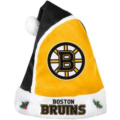 NHL Boston Bruins 2015 Basic Santa Hat, (Boston Bruins Santa Hat)
