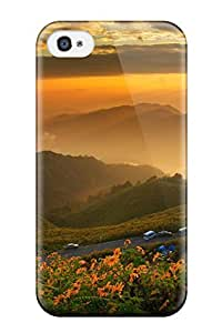 Iphone High Quality Tpu Case/ Sunset BQWEgCT3837MhcVV Case Cover For Iphone 4/4s