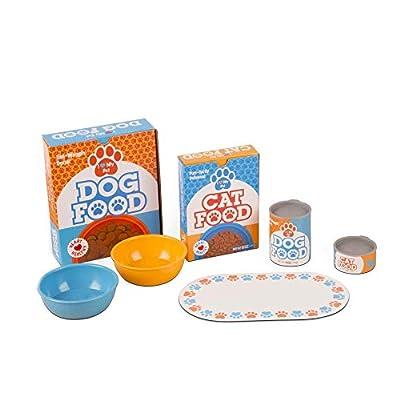 Melissa & Doug Feed & Play Pet Treats Play Set: Toy: Toys & Games