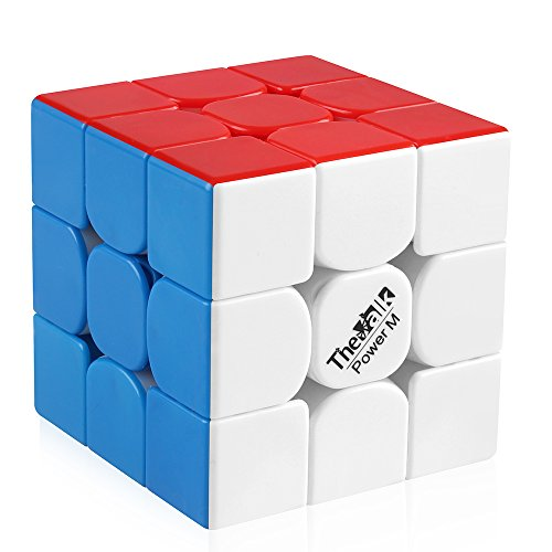 D-FantiX Qiyi Valk 3 Power M Magnetic Speed Cube 3x3 Magic Cube Puzzle Toys Stickerless
