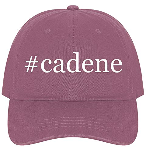 The Town Butler #Cadene - A Nice Comfortable Adjustable Hashtag Dad Hat Cap, Pink, One Size