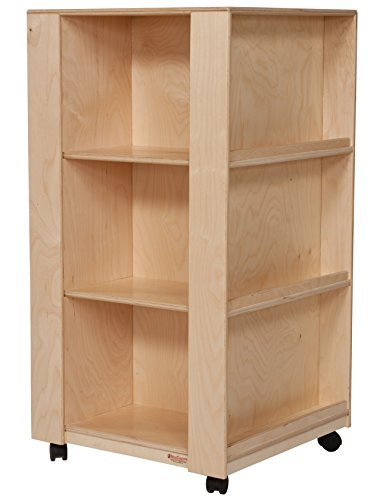 Wood Designs WD34500 Library and Display Center, 60