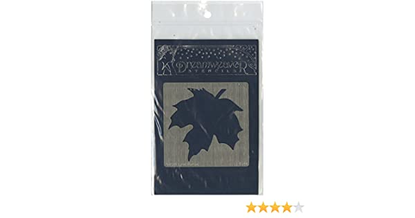 Stampedous Dreamweaver Metal Stencil Maple Leaf Large