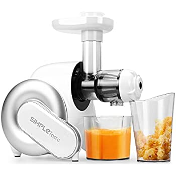 Aicok Slow Masticating Juicer Extractor Reverse Function : Amazon.com: BELLA 13695 NutriPro Cold Press Juicer ...