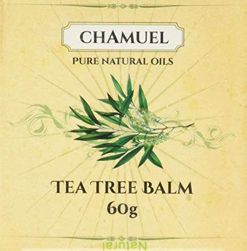 Tea Tree Oil Balm -100% All Natural | Great Cream for Soothing Common Skin Irritations Like Eczema, Psoriasis, Rashes, Dry Chapped Skin, Cuticles, Hemorrhoids, Saddle Sores and More!