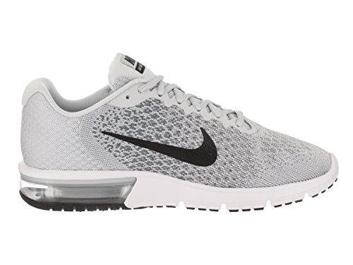 Pure Grey Sequent Mens Max Platinum Running Air Nike Black Shoes 2 cxUWpTv