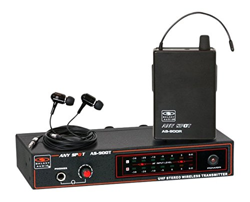 Galaxy Audio AS900K8 In-Ear Monitor System, K8 659.0 MHz