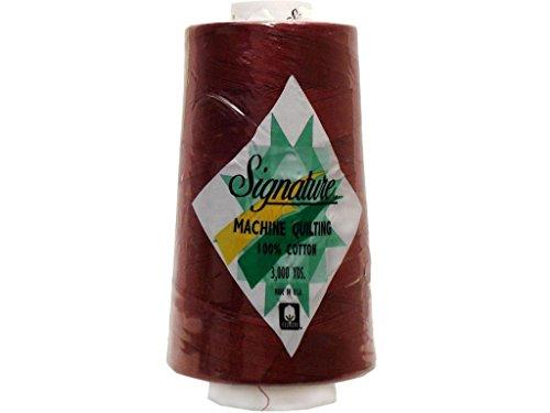 - Signature Thread Signature 100% Ctn Quilt Thread 3000yd Cranapple Cotton 3000