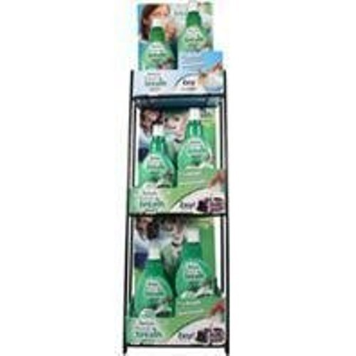 TropiClean Fresh Breath 3-Tier Rack Drops Counter Display Stand Holder Storage