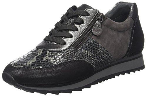 Anthrazit Shoes Gabor Casual para Cordones Zapatos Gris Mujer Derby Gabor Kombi 67 de RgwxCqpqU