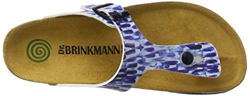 Dr. Brinkmann 700986, Chanclas para Mujer Azul