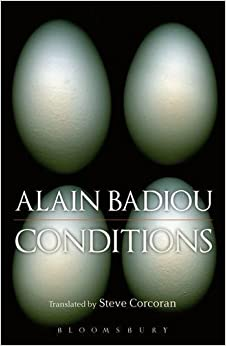 Conditions [3/23/2017] Alain Badiou
