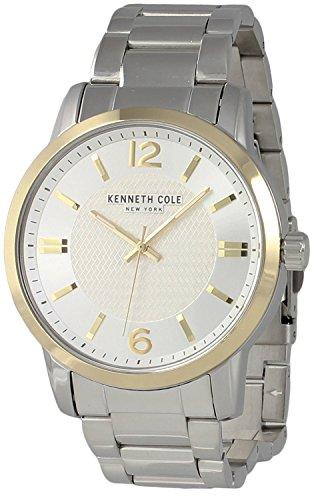Kenneth Cole New York Men's Analog Two-Tone Watch Steel Bracelet KC50038006