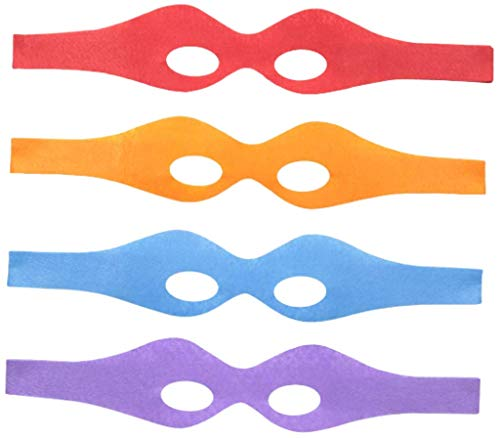 Superhero Costume Felt Eye Masks Assorted Colors - http://coolthings.us